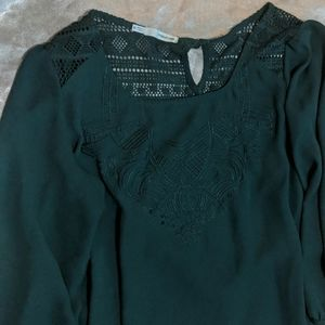 Maurice's perfect blouse 3/4 sleeve size m